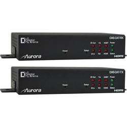 Aurora Multimedia DXE-CAT-S2C HDMI HDBaseT CAT Extender Kit with IP Control