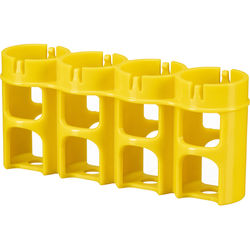 STORACELL SlimLine C4 Battery Holder (Yellow)