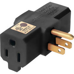 Watson Tri-Tap Power Adapter (Black)