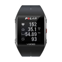 Polar V800 Fitness Watch with Heart Rate Monitor (Black)