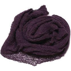 Custom Photo Props Nubble Newborn Baby Wrap Photo Prop (Eggplant Purple)