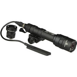 SureFire M600U Ultra Scout Light LED Weaponlight (Black, Dual Switch)