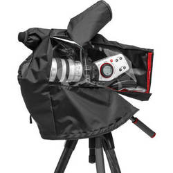 Manfrotto RC-12 Pro Light Video Camera Raincover for Small to Medium-Size Camcorder / DSLR Rig (Black)