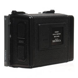 Bronica Film Back E 220 (6 x 4.5cm) Double Latch (Late Model) for ETR Series Cameras
