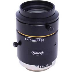 "Kowa C-Mount 16mm f/1.8-16 2/3"" 10MP JC10M Series Fixed Lens"