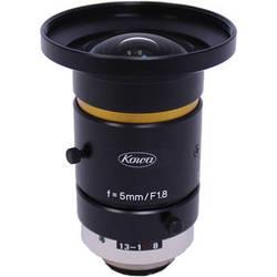 "Kowa C-Mount 5mm f/1.8-16 2/3"" 10MP JC10M Series Fixed Lens"