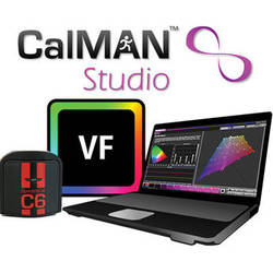 SpectraCal CalMAN Studio with VirtualForge and C6 Colorimeter Bundle