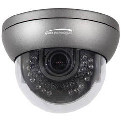 Speco Technologies WDRD10H 960H WDR Indoor/Outdoor Day & Night IR Dome Camera with 2.8-12mm Lens (NTSC, Dark Gray)