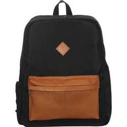 "Jill-E Designs JUST Dupont 15"" Laptop Backpack (Black)"