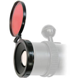 Bigblue External Red Color Filter for VL1800M, VL2500P, and VTL2500P LED Dive Lights