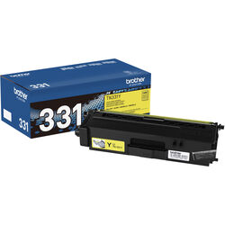 Brother TN331Y Standard Yield Yellow Toner Cartridge