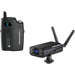 Audio-Technica System 10 Camera-Mount Digital Wireless Microphone System (Microphone Not Included)