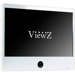 "ViewZ 27"" IP Public View Monitor with Ethernet (White)"