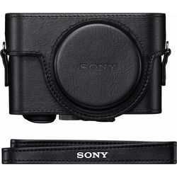 Sony Premium Jacket Case for Cyber-shot RX100, RX100 II, RX100 III, RX100 IV (Black)