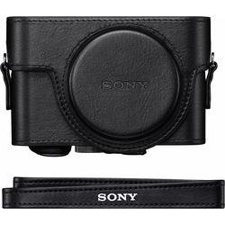 Sony Premium Jacket Case for Cyber-shot RX100, RX100 II, RX100 III, RX100 IV (Black)