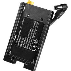 Dedolight Battery Shoe for Sony NP-F 950, 960, 970 Batteries for DLED2.1-BI LED Fixture