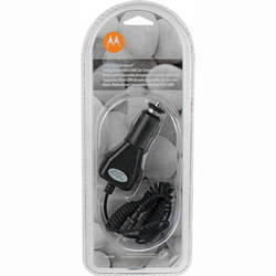 Motorola Mini-USB Car Charger for 2-Way Radios