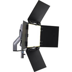 BBS Lighting Area 48 LED Soft Fixture with Interchangeable Phosphor Technology (Black, 3200K)