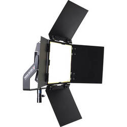 BBS Lighting Area 48 LED Soft Fixture with Interchangeable Phosphor Technology (Black, 5600K)