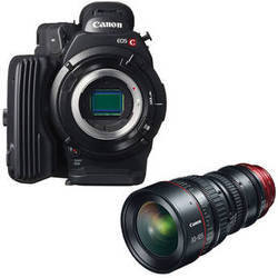 Canon EOS C500 4K Cinema Camera Kit with CN-E 30-105mm T2.8 Lens (EF Mount)
