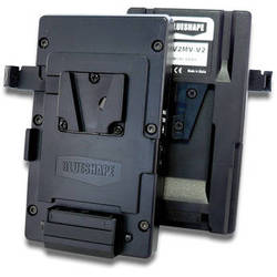 BLUESHAPE V-Mount to V-Mount Adapter Plate with P-Tap Output