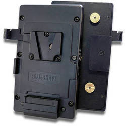 BLUESHAPE V-Mount Plate with Gold Mount Adapter
