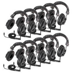 Califone 3068AV-10L Classroom 10-Pack of Switchable Stereo/Mono Headphones