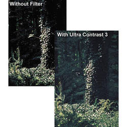 "Tiffen 6 x 6"" Ultra Contrast 1/4 Filter"