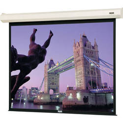 "Da-Lite 40769 Cosmopolitan Electrol Motorized Projection Screen (50 x 50"",120V, 60Hz)"
