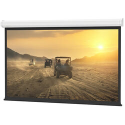 Da-Lite 40801 Cosmopolitan Electrol Motorized Projection Screen (8 x 8',120V, 60Hz)