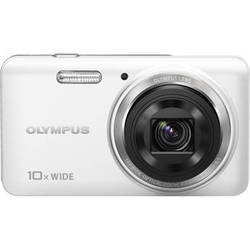 Olympus VH-520 iHS Digital Camera (White)