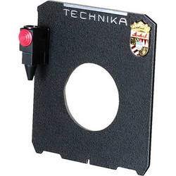 Linhof Lensboard with Cable Release Quicksocket