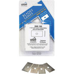 Logan Graphics #268 Blades for Professional Cutters