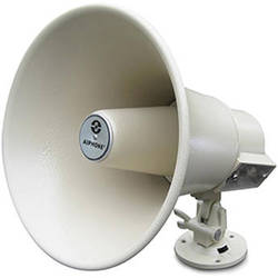 Aiphone AH-32TN 8 32W Horn Speaker with Built-in Transformer for Intercom, Paging and Paging/Talkback Systems (Beige)