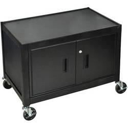 "H. Wilson MC29E  Mobile Cabinet - 29"" High (Black)"