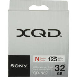 Sony 32GB QDN32 XQD N Series Memory Card