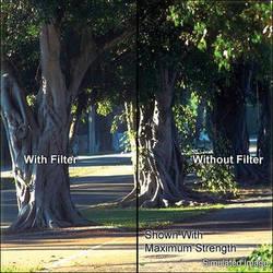 "Tiffen 6.6 x 6.6"" Soft Contrast 1 Glass Filter"