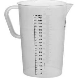 Hama PolyPropylene Graduate - 72 oz (2 Liter)