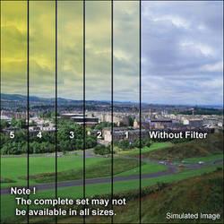 "Tiffen 6 x 6"" 2 Yellow Soft-Edge Graduated Filter"