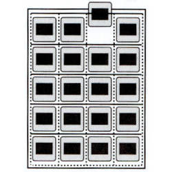 Vue-All 7660 35mm Slide Saver Archival Storage Page (Top Load, 100 Pack)