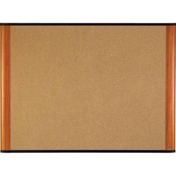 "3M C7248LC 72 x 48"" Cork Board (Light Cherry Finish Frame)"