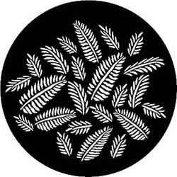 Rosco Steel Gobo #7593 - Ferns - Size M