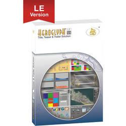 proDAD Heroglyph V4 LE Titling and Motion Graphics Software (Download)