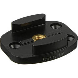 FotodioX Quick Release Mount with Screw Holes for GoPro (Black)