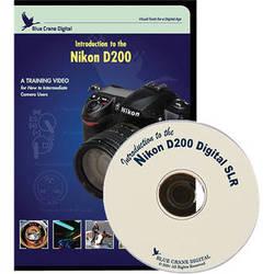 Blue Crane Digital DVD: Training DVD for Nikon D200 Digital SLR Camera