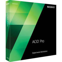 Sony ACID Pro 7 - Audio, MIDI and Loop Based Recording Software (Educational, Download)
