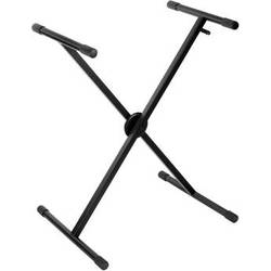 Auray KSC-1X - Deluxe Single-X Keyboard Stand with Clutch Locking Mechanism