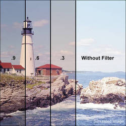 """LEE Filters 3x3"""" Combination 81EF Pale Amber / ND 0.9 Polyester Filter"""