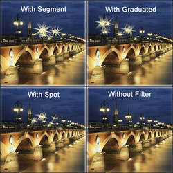 "LEE Filters 4x6"" Selective Star Resin Filter Set"