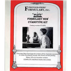 "Photographers' Formulary New Cyanotype Kit - 100ml/Makes 50 8x10"" Prints"